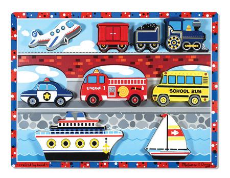 Grube Puzzle Jumbo Pojazdy  Melissa and Doug 13725