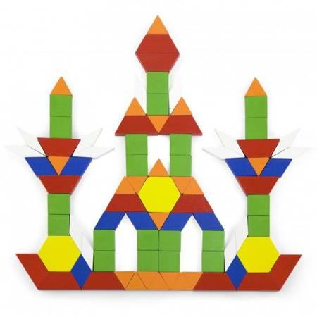 Drewniane Klocki 250  elementów Viga Toys