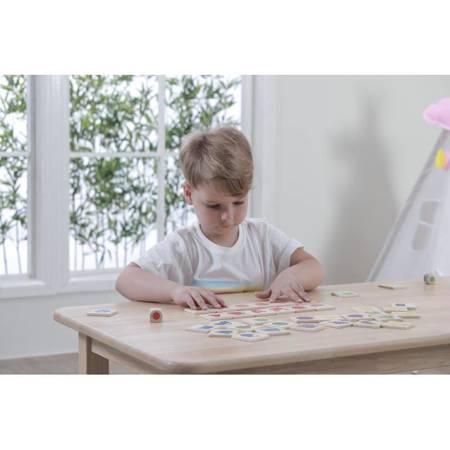 Gra Edukacyjna Drewniana Układanka Sortuj Dopasuj Kolory i Kształty Viga Toys