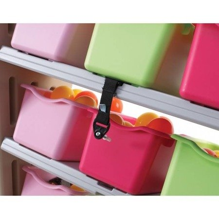 Regalik z 11 pojemnikami - Różowy  827400 Step2
