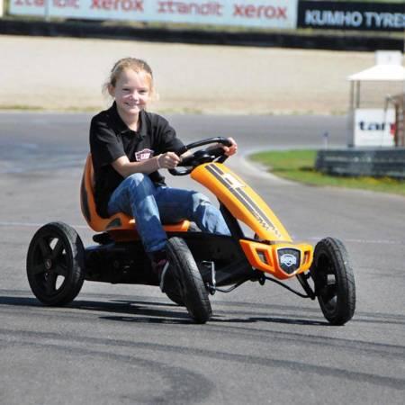 BERG Gokart Na Pedały Rally Pomarańczowy do 60 kg