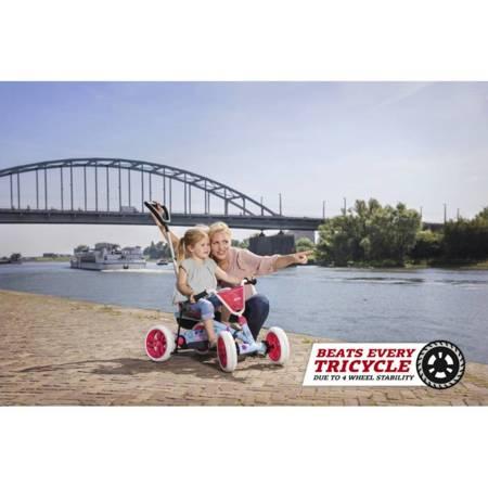 BERG Gokart na Pedały Rowerek 2 w 1 Buzzy Bloom