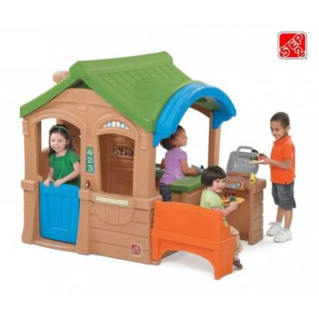 Domek Dla Dzieci do Ogrodu  Step2  z Grilem i Ławeczką