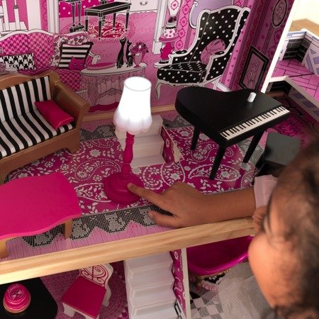 Domek dla lalek Bella Jenny KidKraft Światło i Dźwięk  65944