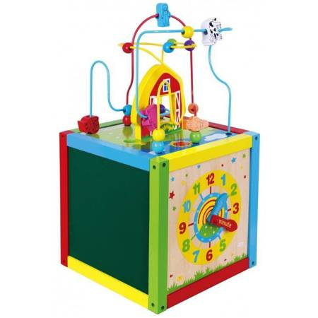 Drewniana Kostka Edukacyjna Viga Toys