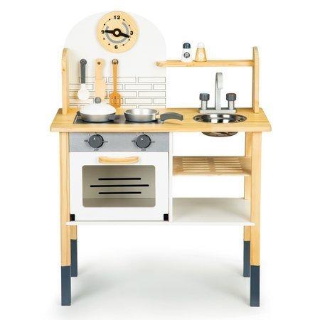Drewniana kuchnia dla dzieci ECO + akcesoria
