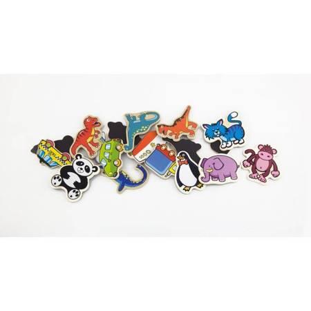 Drewniane magnesy Zwierzątka 20 elementów Viga Toys