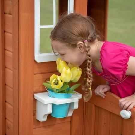 Drewniany Domek Ogrodowy dla dzieci  Madera Lake Backyard Discovery