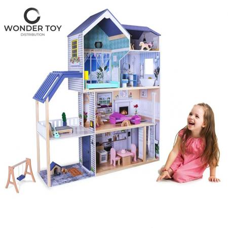 Drewniany Domek dla lalek Cristina