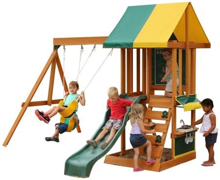 Drewniany Plac Zabaw Sun Bistro Kidkraft F24150CI