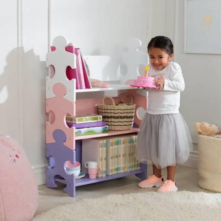 Drewniany Regalik Pastel Puzzle  Kidkraft 14415