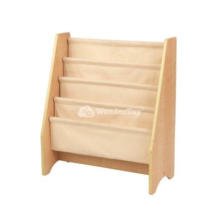Drewniany Regalik z Płóciennymi Przegrodami Kidkraft 14221