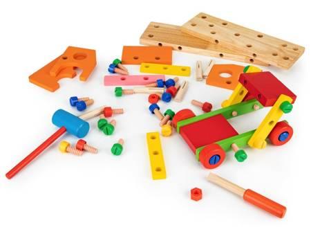 Drewniany Zestaw Mały Konstruktor