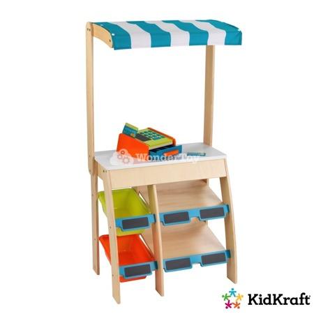 Drewniany sklepik stragan bazarek KidKraft Grocery Stand 53017