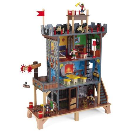 Forteca Piracka ze Statkiem Kidkraft 63284
