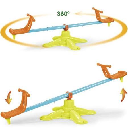 Huśtawka Równoważna Karuzela 2 w 1 Duo Swing