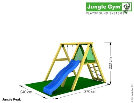 Huśtawka i zjeżdżalnia Peak ™ Jungle Gym