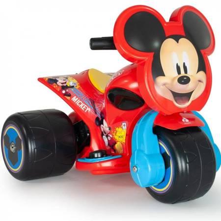 INJUSA Trzykołowiec Myszki Miki Samurai 6V Jeździk dla Dzieci