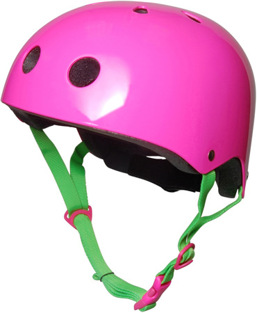 Kask Kiddimoto ® Neon Pink  KMH037
