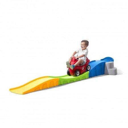 Kolejka Górska Roller Coaster ślizg i zjeżdżalnia 863300 Step2