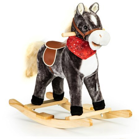 Koń Konik na Biegunach + Dźwięk