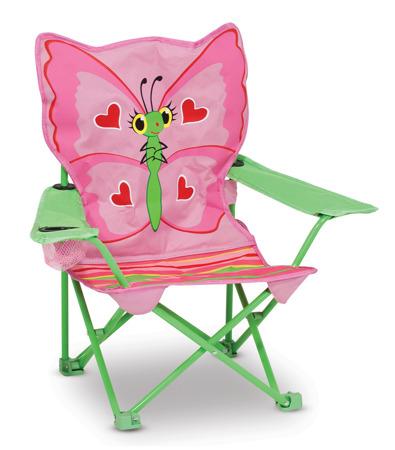 Krzesełko Leżak Motylek  Melissa and Doug 16173 DSC