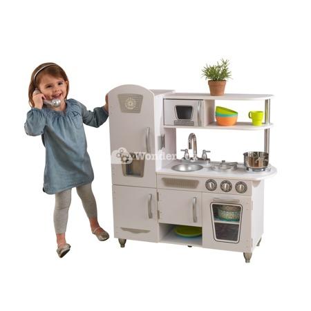 Kuchnia dla dzieci KidKraft White Vintage 53402