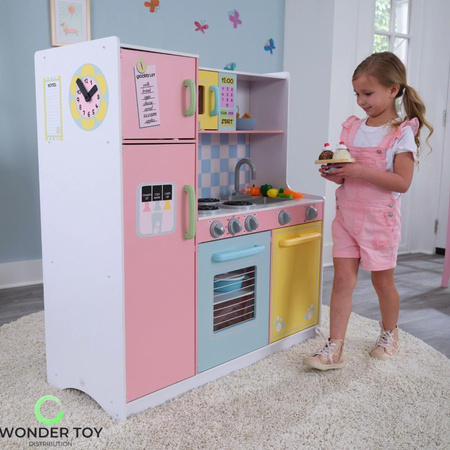 Kuchnia dla dzieci KidKraft Wielka Pastelowa Kuchnia 53181