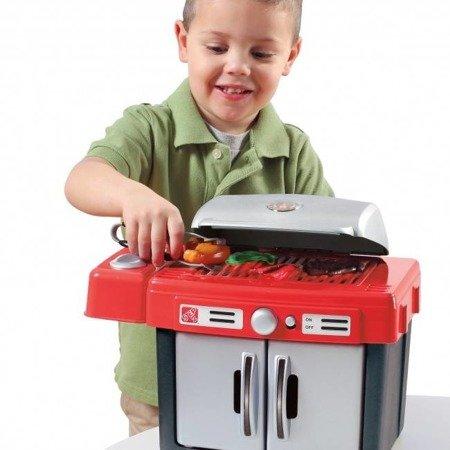 Mini Grill ze światłem dźwiękiem i akcesoriami 812500 Step2