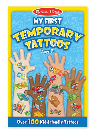 Mój Pierwszy Tatuaż dla chłopca  Melissa and Doug 12947