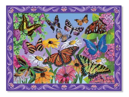 Mozaika Kolorowe Motyle Melissa and Doug 14302 DSC