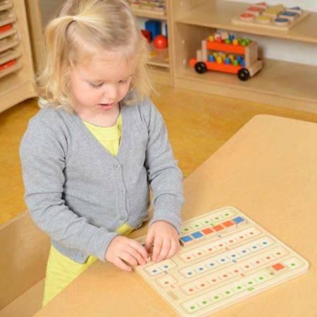 Nauka Dodawania I Odejmowania Tabliczka Edukacyjna Masterkidz
