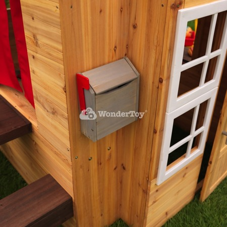 Nowoczesny Drewniany Domek Ogrodowy Kidkraft 00182