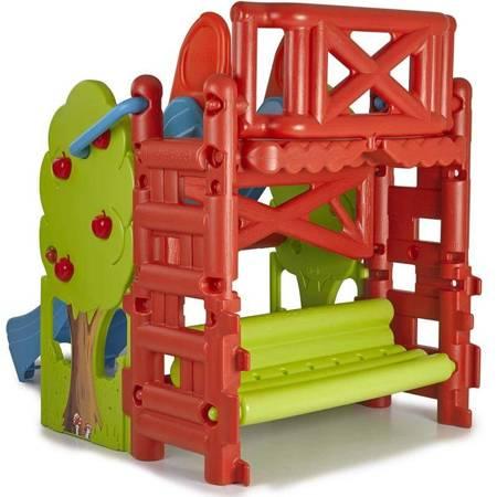 Plac Zabaw ze Zjeżdżalnią i Stolikiem Wood House