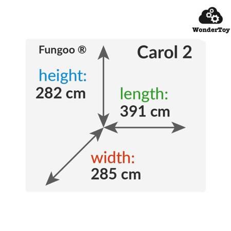 Plac zabaw Carol 2 The Grey White™ FunGoo ®