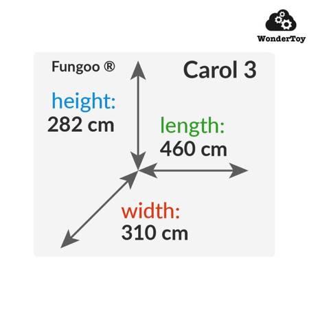 Plac zabaw Carol 3 The Grey & White ™ FunGoo ®