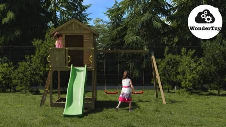 Plac zabaw Galaxy Small Double Swing FunGoo ®