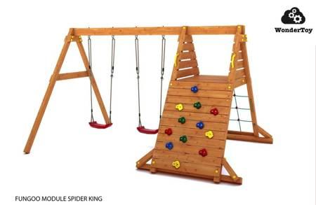 Plac zabaw - Huśtawka Spider King Fungoo