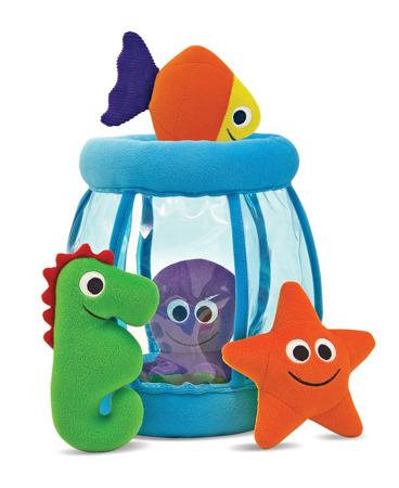 Pluszowe Akwarium z Morskimi Zwierzątkami  Melissa and Doug 13044 DSC