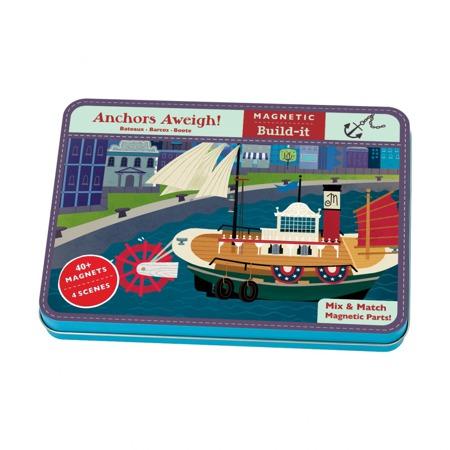Puzzle Magnesy Statki Mudpuppy MP337015