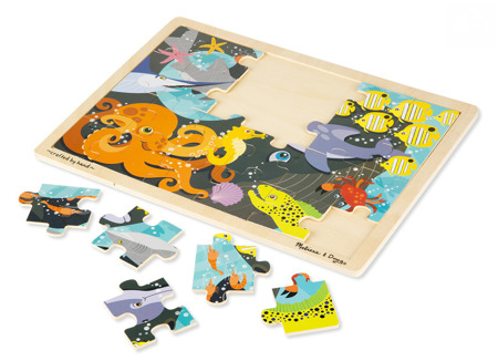 Puzzle Ocean 24 el  Melissa and Doug 19072