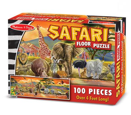 Puzzle Podłogowe Safari  Melissa and Doug 12873