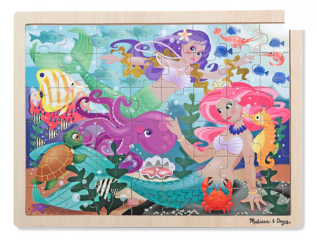 Puzzle Syreny 48 el  Melissa and Doug 12911