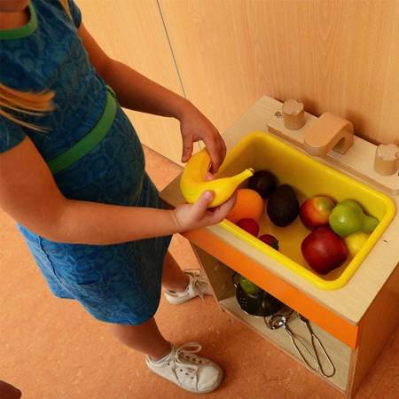 Realistyczne Owoce Zestaw Do Kuchni 10 szt MASTERKIDZ