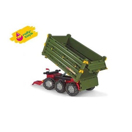 Rolly Toys rollyTrailer Wielka Przyczepa 3 osie Multi Trailer