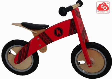 Rowerek Biegowy Kiddimoto ® Red Tyre  KM614
