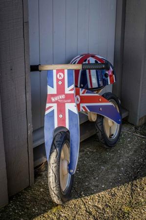 Rowerek Biegowy Kiddimoto ® Union Jack KM601