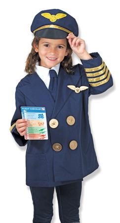 Strój Przebranie Kostium Pilot Melissa and Doug 18500