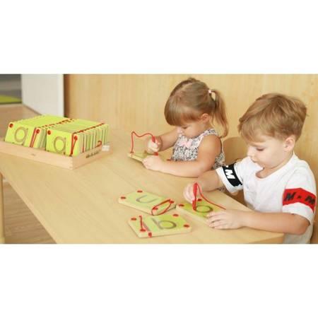 Tabliczki Magnetyczne Nauka Pisania Małe Literki Viga Toys