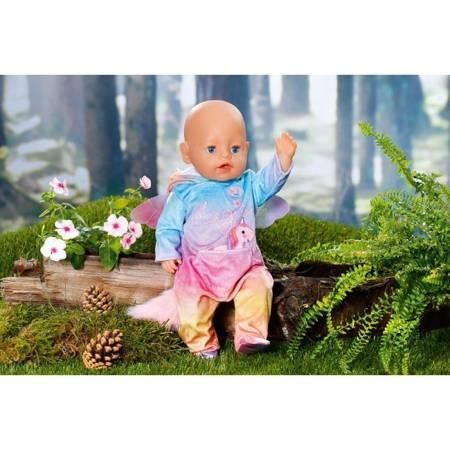 Tęczowa Piżamka Jednorożec Dla Lalki 43 cm BABY BORN